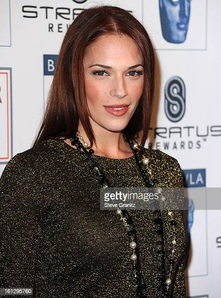 Amanda Righetti attends the BAFTA/LA's 16th Annual Awards Season Tea Party at Beverly Hills Hotel on January 16 2010 in Beverly Hills California