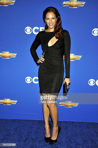 Amanda Righetti attends the CBS event 'Cruze Into The Fall' held at The Colony on September 16 2010 in Los Angeles California