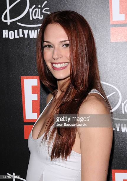 Amanda Righetti attends the E Oscar viewing and after party at Drai's Hollywood on March 7 2010 in Hollywood California