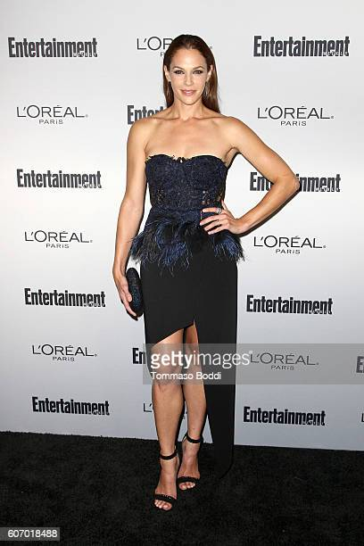 Amanda Righetti attends the Entertainment Weekly's 2016 PreEmmy Party held at Nightingale Plaza on September 16 2016 in Los Angeles California