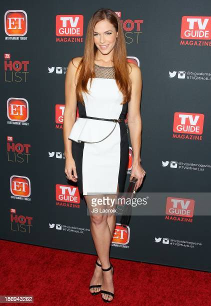 Amanda Righetti attends the TV Guide Magazine Annual Hot List Party held at at The Emerson Theatre on November 4 2013 in Hollywood California