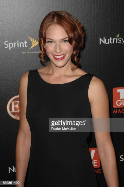 Amanda Righetti attends TV GUIDE MAGAZINE HOT LIST PARTY at SLS Hotel on November 10 2009 in Beverly Hills California