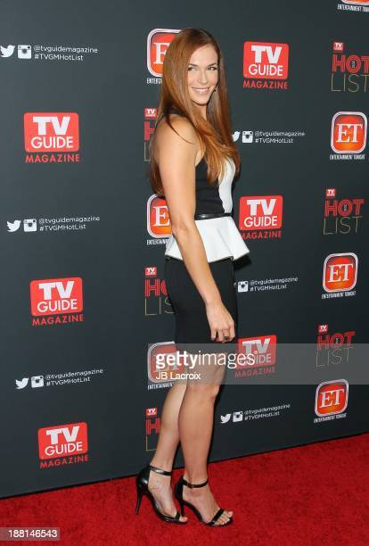 Amanda Righetti attends TV Guide Magazine's Annual Hot List Party at The Emerson Theatre on November 4 2013 in Hollywood California