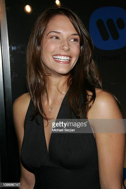 Amanda Righetti during 2006 Warner Music Group GRAMMY Arrivals in Los Angeles California United States