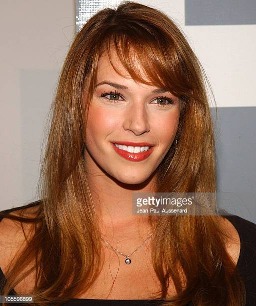 Amanda Righetti during Fox TV 'White Hot Winter' Network Party at Meson G Restaurant in Los Angeles California United States