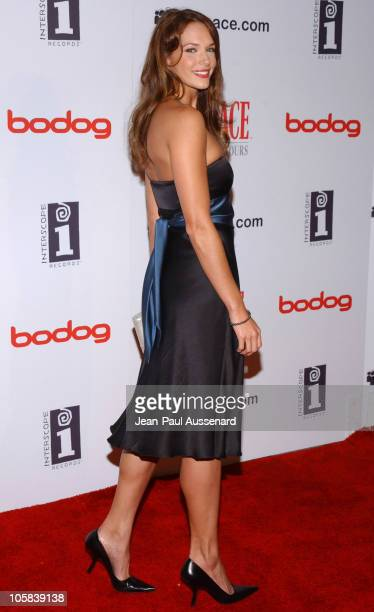 Amanda Righetti during Scarface E3 Party Arrivals in Los Angeles California United States