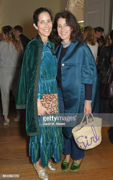 Amanda Ross and Ali Ross attend the Red Smart Women Week Career Shifters Party at Asia House on September 26 2017 in London England