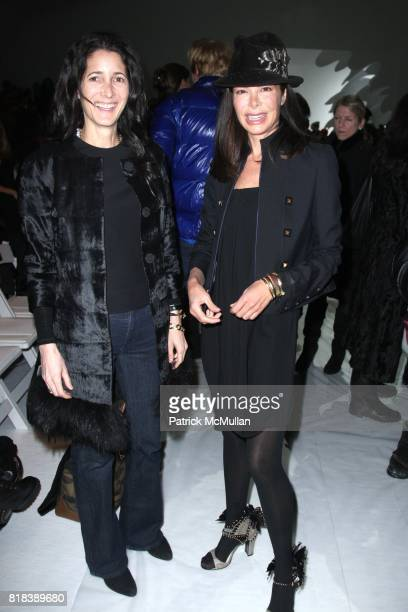 Amanda Ross and Allison Serafin attend VERA WANG Fall 2010 Collection at Bryant Park Tents on February 16 2010 in New York City