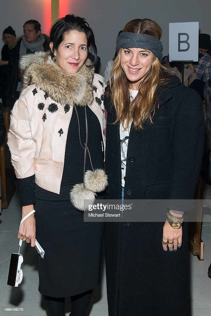 Thom Browne Women's - Front Row & Backstage - Mercedes-Benz Fashion Week Fall 2014