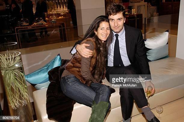 Amanda Ross and Euan Rellie attend SALVATORE FERRAGAMO's Contemporary Art Show WATER benefiting RIVERKEEPER at Salvatore Ferragamo on February 7 2007...