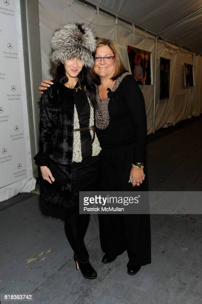 Amanda Ross and Fern Mallis attend Cocktails in honor of W Hotels' newly appointed Fashion Director at W Lounge on February 16 2010 in New York City