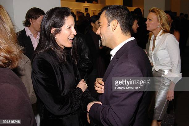 Amanda Ross and Francisco Costa attend Calvin Klein hosts a party to celebrate Bryan Adams' new photo book American Women to benefit The Society of...