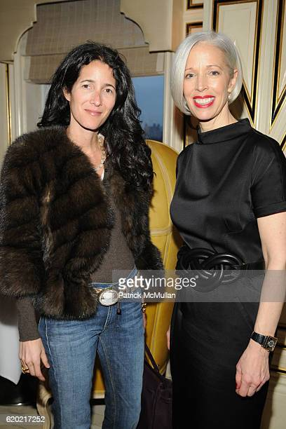 Amanda Ross and Linda Fargo attend BERGDORF GOODMAN Party for RM by ROLAND MOURET at Bergdorf Goodman on April 9 2008 in New York City