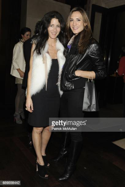 Amanda Ross and Zani Gugelmann attend Gwyneth Paltrow and VBH's Bruce Hoeksema Host Cocktail Party for Valentino The Last Emperor at VBH on October...