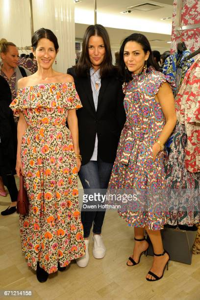 Amanda Ross Ann Caruso and Ana Maria Pimental attend Launch of La DoubleJ at Bergdorf Goodman at Bergdorf Goodman on April 20 2017 in New York City