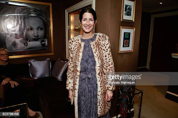 Amanda Ross at the Mita Corsini Ritchey Howe Nico Landrigan Host Cocktail for Ala von Auersperg Collection at Verdura Showroom on November 16 2016 in...