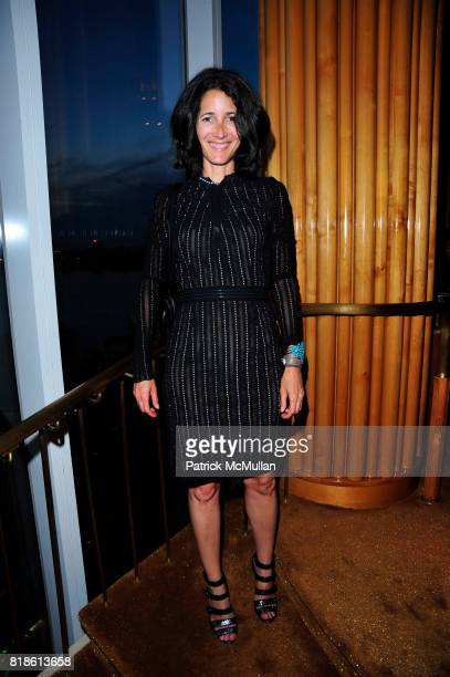 Amanda Ross attend CHARLOTTE SARKOZY hosts celebration of BARBARA BUI's visit to New York at the Boom Boom Room at the Standard Hotel on June 21st...