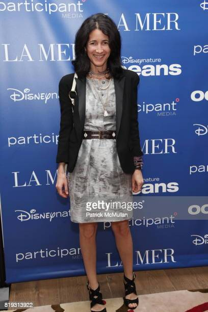 Amanda Ross attends LA MER Screening of Disneynature's OCEANS at Crosby Street Hotel on April 20 2010 in New York City