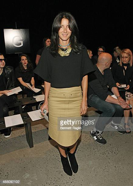 Amanda Ross attends Narciso Rodriguez during MercedesBenz Fashion Week Spring 2015 at SIR Stage 37 on September 9 2014 in New York City