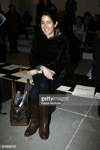 Amanda Ross attends PETER SOM Fall 2010 Collection at Milk Studios on February 13 2010 in New York City