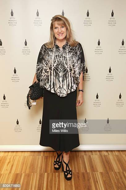 Amanda Ross attends the Baileys Women's Prize for Fiction 2016 Shortlist at Royal Festival Hall Southbank Centre on April 11 2016 in London England