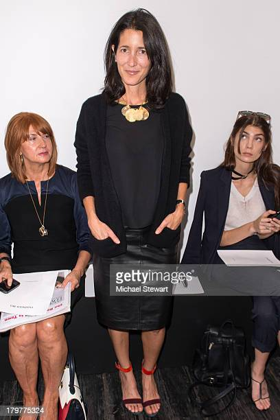 Amanda Ross attends the Chadwick Bell show during Spring 2014 MercedesBenz Fashion Week at The Hosfelt Gallery on September 6 2013 in New York City