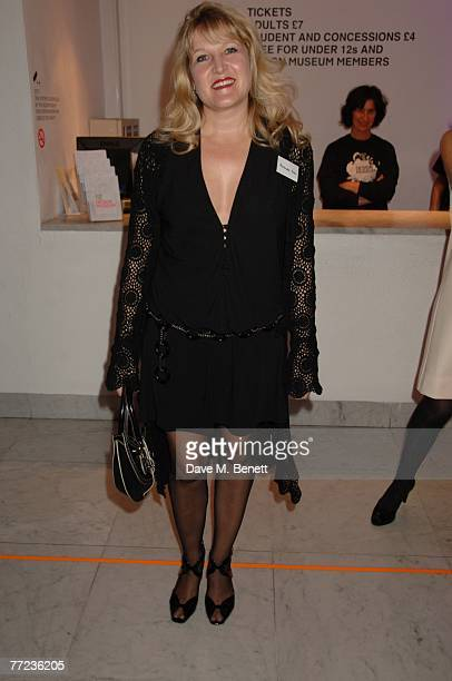 Amanda Ross attends The Evening Standard's 1000 most Influential people in London 2007 launch party at the Design Museum on October 08, 2007 in...