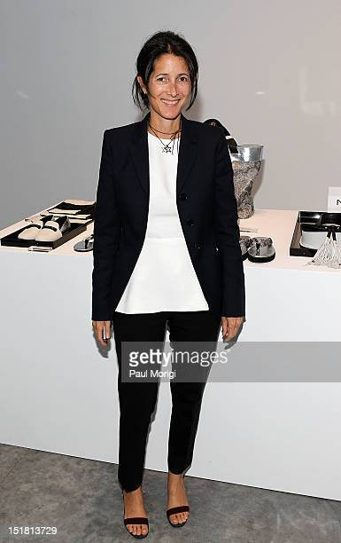 Amanda Ross attends the NewbarK presentation during Spring 2013 MercedesBenz Fashion Week at Paul Kasmin Gallery on September 11 2012 in New York City