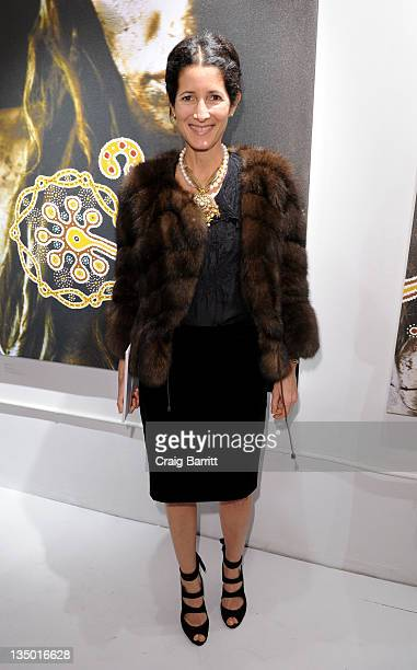 Amanda Ross attends the 'Nomad Two Worlds' Private Preview Event at the Chair and The Maiden Gallery on December 5 2011 in New York City
