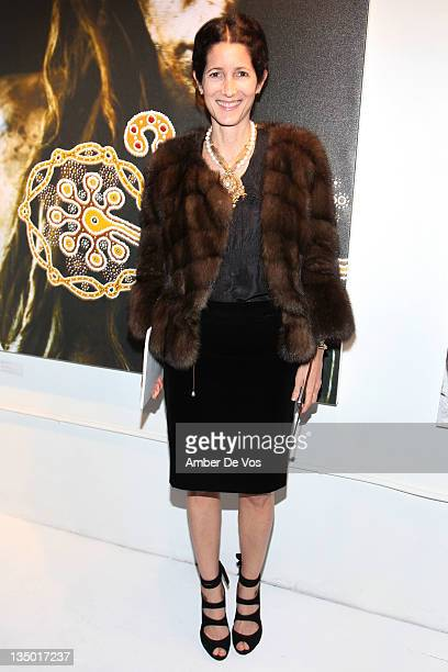 Amanda Ross attends the 'Nomad Two Worlds' Russell James Exhibit Opening at the Chair and The Maiden Gallery on December 5 2011 in New York City