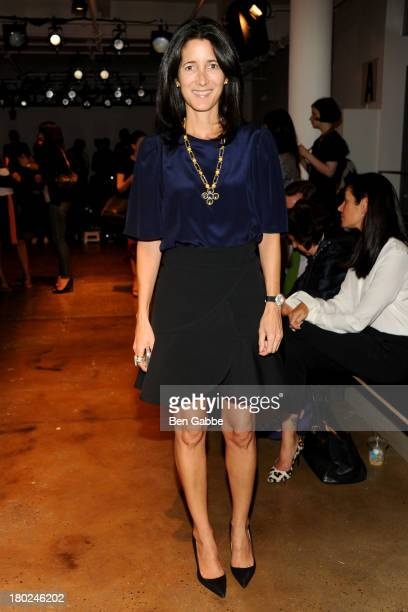 Amanda Ross attends the Sophie Theallet fashion show during MADE Fashion Week Spring 2014 at Milk Studios on September 10 2013 in New York City
