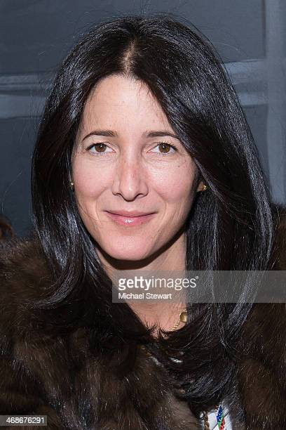 Amanda Ross attends the Vera Wang Collection Show during MercedesBenz Fashion Week Fall 2014 at Dia Center on February 11 2014 in New York City