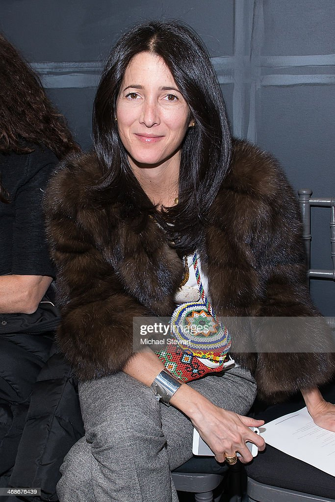 Vera Wang Collection - Front Row & Backstage - Mercedes-Benz Fashion Week Fall 2014