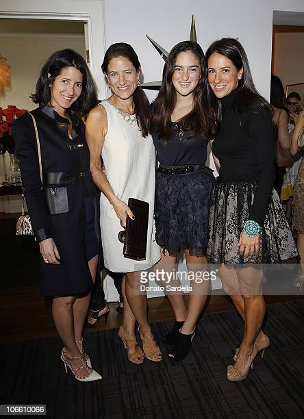 Amanda Ross Katherine Ross India jaffe and Jane Ross attend Vogue and Valentino Celebrate Spring/Summer 2011 Collection Hosted by Jacqui Getty and...
