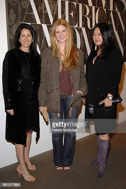 Amanda Ross Kristina O'Neill and Susan Shin attend Calvin Klein hosts a party to celebrate Bryan Adams' new photo book American Women to benefit The...