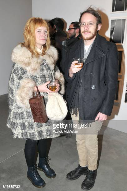 Amanda Ryan and Thomas Byrd attend Artist's Reception with NATHAN HARGER at Hasted Kraeutler on December 9th 2010 in New York City