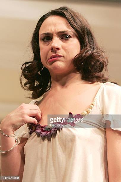 Amanda Ryan as Davina Saunders during Otherwise Engaged Photocall 26 October 2005 at The Criterion Theatre in London Great Britain