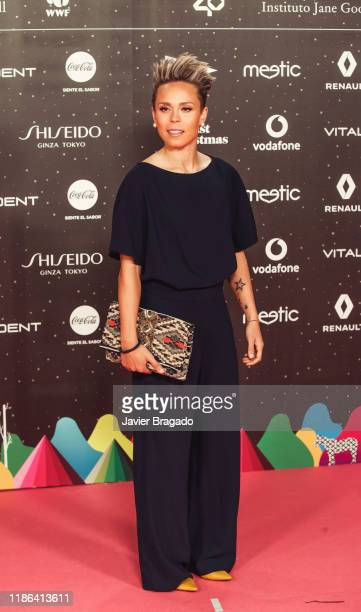 Amanda Sampedro attends 'Los40 music awards 2019' photocall at Wizink Center on November 08 2019 in Madrid Spain