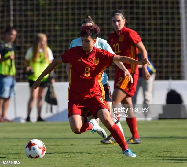 Amanda Sampedro during a friendly match between the national women's teams of Spain vs Belgium in Pinatar Arena Murcia Spain Friday June 30 2017