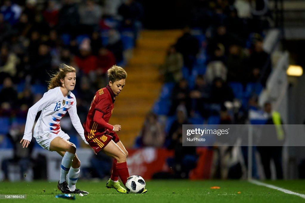 Spain v USA - Women Friendly : News Photo