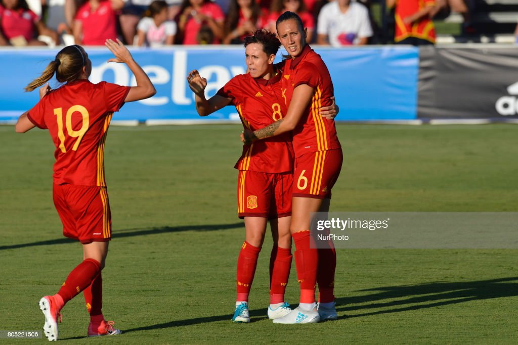 Spain v Belgium - Women International Friendly Match : News Photo