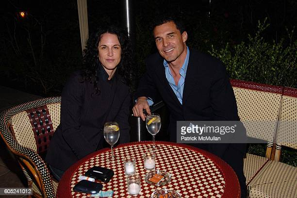 Amanda ScheerDemme and Andre Balazs attend HBO's Annual PreGolden Globes Party hosted by Colin Callender Chris Albrecht and Carolyn Strauss at...
