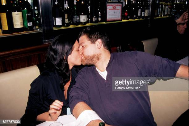 Amanda ScheerDemme Ted Demme Bowery Bar NYC November 29 1995 Kiss