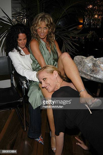 Amanda ScheerDemme Tracey Ross and Amy Sacco attend Amy Sacco Amanda Scheer Demme and Tracey Ross host 'for a fun summer night' at the Tropicana at...