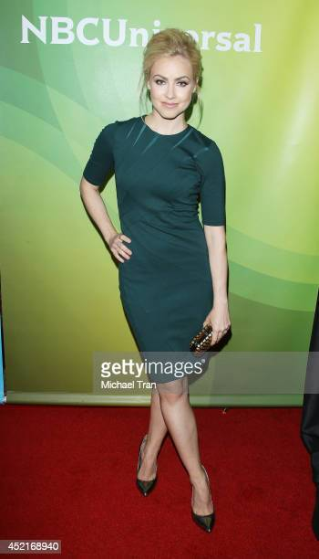 Amanda Schull arrives at the 2014 Television Critics Association Summer Press Tour NBCUniversal Day 2 held at The Beverly Hilton Hotel on July 14...