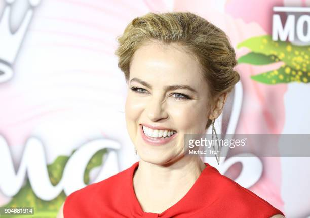 Amanda Schull arrives to the Hallmark Channel and Hallmark Movies and Mysteries Winter 2018 TCA Press Tour held at Tournament House on January 13...