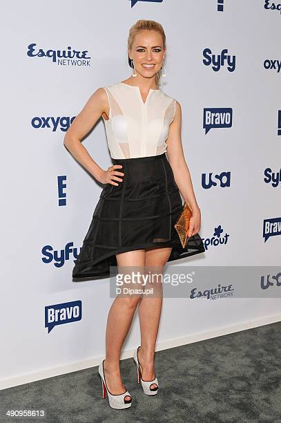 Amanda Schull attends the 2014 NBCUniversal Cable Entertainment Upfronts at The Jacob K Javits Convention Center on May 15 2014 in New York City