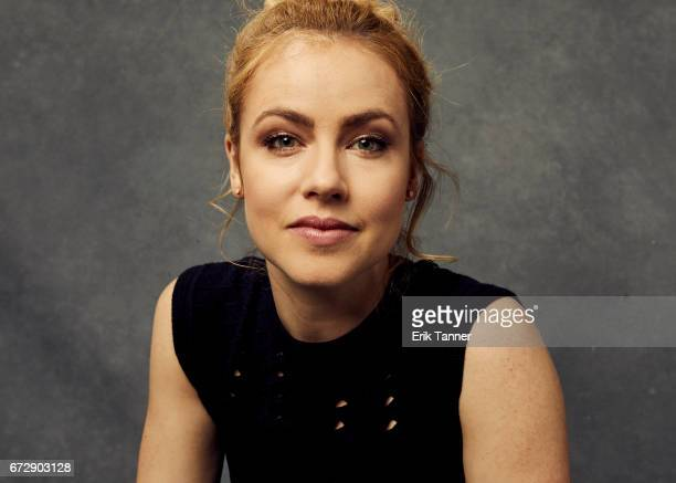 Amanda Schull from 'Devil's Gate' poses at the 2017 Tribeca Film Festival portrait studio on April 24 2017 in New York City