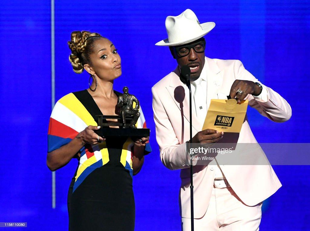 2019 NBA Awards Presented By Kia On TNT - Inside : News Photo
