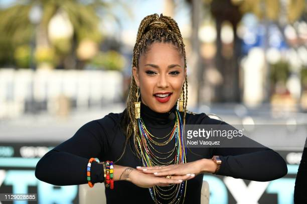 Amanda Seales at Universal Studios Hollywood on February 11 2019 in Universal City California